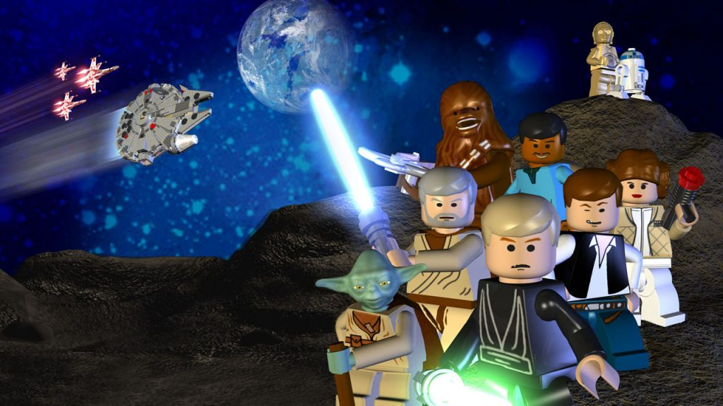 Lego Star Wars: The Complete Saga - Download and Play